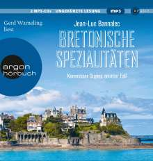 Jean-Luc Bannalec: Bretonische Spezialitäten, 2 MP3-CDs