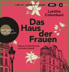 Laetitia Colombani: Das Haus der Frauen, MP3-CD