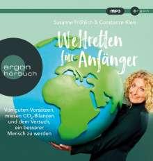 Susanne Fröhlich: Weltretten für Anfänger, MP3-CD