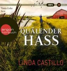 Linda Castillo: Quälender Hass, MP3-CD