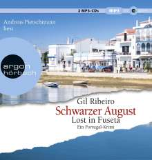 Gil Ribeiro: Schwarzer August, MP3-CD