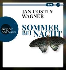 Jan Costin Wagner: Sommer bei Nacht, MP3-CD