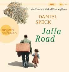 Daniel Speck (geb. 1969): Jaffa Road, 3 MP3-CDs