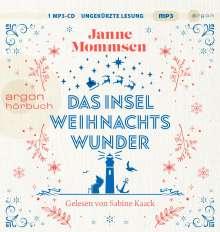 Janne Mommsen: Das Inselweihnachtswunder, MP3-CD