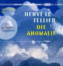 Hervé Le Tellier: Die Anomalie, 2 MP3-CDs