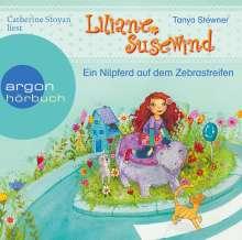 Tanya Stewner: Liliane Susewind - Ein Nilpferd auf dem Zebrastreifen, CD