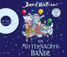 David Walliams: Die Mitternachtsbande, 4 CDs