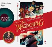 Neil Patrick Harris: Die magischen Sechs, 4 CDs