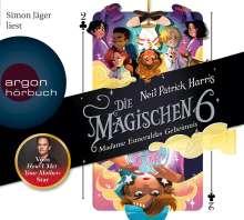 Neil Patrick Harris: Die Magischen Sechs - Madame Esmeraldas Geheimnis, 4 CDs