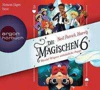 Neil Patrick Harris: Die Magischen Sechs - Wendel Wispers unheimliche Puppe, 4 CDs