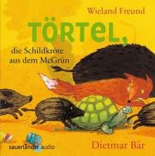 Wieland Freund: Törtel, die Schildkröte aus dem McGrün, CD