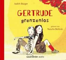 Judith Burger: Gertrude grenzenlos, 4 CDs