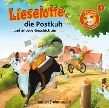 Lieselotte (1) Lieselotte, die Postkuh, CD