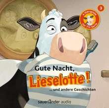 Lieselotte (3) Gute Nacht, Lieselotte!, CD