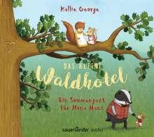 Kallie George: Das kleine Waldhotel - Ein Sommergast für Mona Maus, 2 CDs