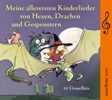 Toni Geiling: Meine allerersten Kinderlieder von Hexen, Drachen und Gespenstern, CD