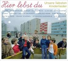 Hier Lebst Du - Unsere Liebsten Kinderlieder, CD