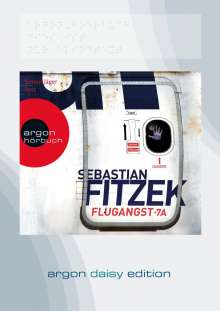 Sebastian Fitzek: Flugangst 7A (DAISY Edition), MP3-CD
