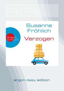 Susanne Fröhlich: Verzogen (DAISY Edition), MP3-CD