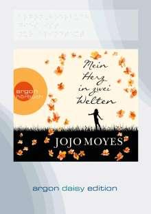Jojo Moyes: Mein Herz in zwei Welten (DAISY Edition), MP3-CD