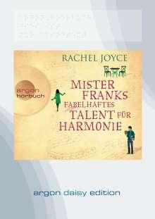 Rachel Joyce: Mister Franks fabelhaftes Talent für Harmonie (DAISY Edition), MP3-CD