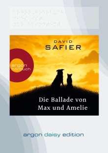David Safier: Die Ballade von Max und Amelie (DAISY Edition), MP3-CD