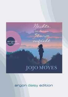 Jojo Moyes: Nächte, in denen Sturm aufzieht (DAISY Edition), DVD-Audio