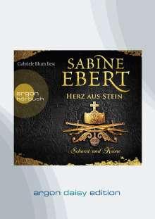 Sabine Ebert: Schwert und Krone - Herz aus Stein (DAISY Edition), CD
