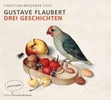 Gustave Flaubert: Drei Geschichten, 4 CDs