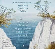 Friedrich Christian Delius: Wenn die Chinesen Rügen kaufen, dann denkt an mich, MP3-CD