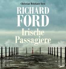 Richard Ford: Irische Passagiere, 2 MP3-CDs