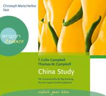 T. Colin Campbell: China Study, 3 CDs