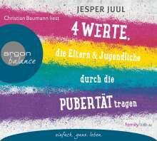 Jesper Juul: Vier Werte, die Eltern und Jugendliche durch die Pubertät tragen, 2 CDs
