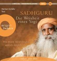 Sadhguru: Die Weisheit eines Yogi, 2 CDs