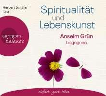 Anselm Grün: Spiritualität und Lebenskunst, 3 CDs