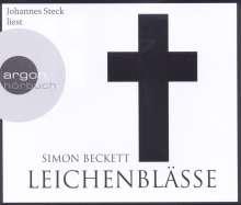Simon Beckett: Leichenblässe (Hörbestseller), 6 CDs