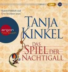 Tanja Kinkel: Das Spiel der Nachtigall (MP3-Ausgabe), 3 MP3-CDs