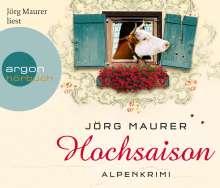 Jörg Maurer: Hochsaison (Hörbestseller), CD