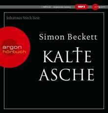 Simon Beckett: Kalte Asche (Hörbestseller MP3-Ausgabe), MP3-CD