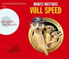 Moritz Matthies: Voll Speed (Hörbestseller), 4 CDs