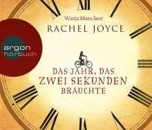 Rachel Joyce: Das Jahr, das zwei Sekunden brauchte (Hörbestseller), 6 CDs