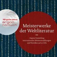 Giacomo Casanova: Meisterwerke der Weltliteratur, 10 CDs