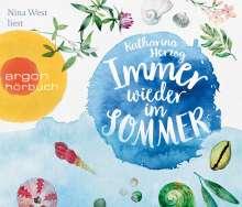 Katharina Herzog: Immer wieder im Sommer, 5 CDs