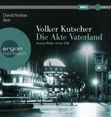 Volker Kutscher: Die Akte Vaterland, MP3-CD