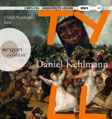 Daniel Kehlmann: Tyll, 2 MP3-CDs