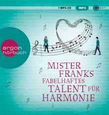 Rachel Joyce: Mister Franks fabelhaftes Talent für Harmonie, CD