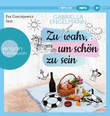Zu Wahr,Um Schön Zu Sein, MP3-CD