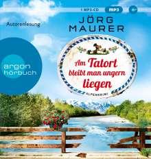 Jörg Maurer: Am Tatort bleibt man ungern liegen, MP3-CD