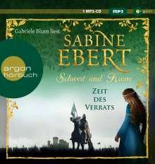Sabine Ebert: Schwert und Krone - Zeit des Verrats, MP3-CD
