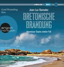Jean-Luc Bannalec: Bretonische Brandung, MP3-CD